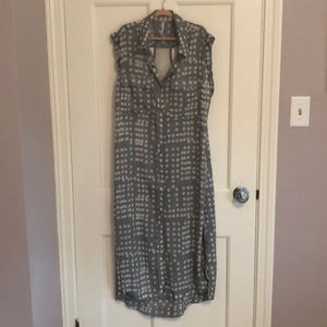 New! No tags. Free People button down sheer dress
